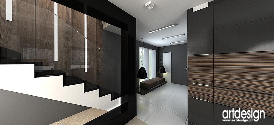 Projekty aranżacje wnętrz Projektowanie architektura wnętrza Artdesign  -> Kuchnia Art Design